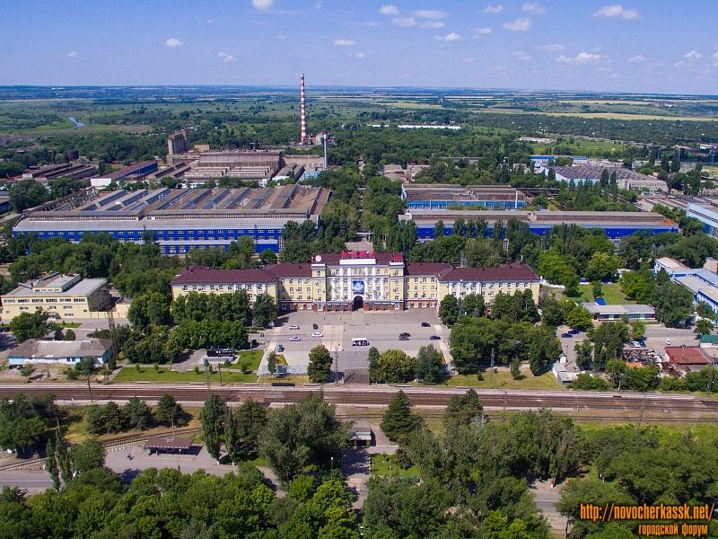 Новочеркасский электровозостроительный завод (НЭВЗ). Заводоуправление