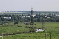 Река Тузлов. На фоне - микрорайон Хотунок