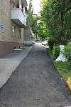 Новый тротуар на Островского