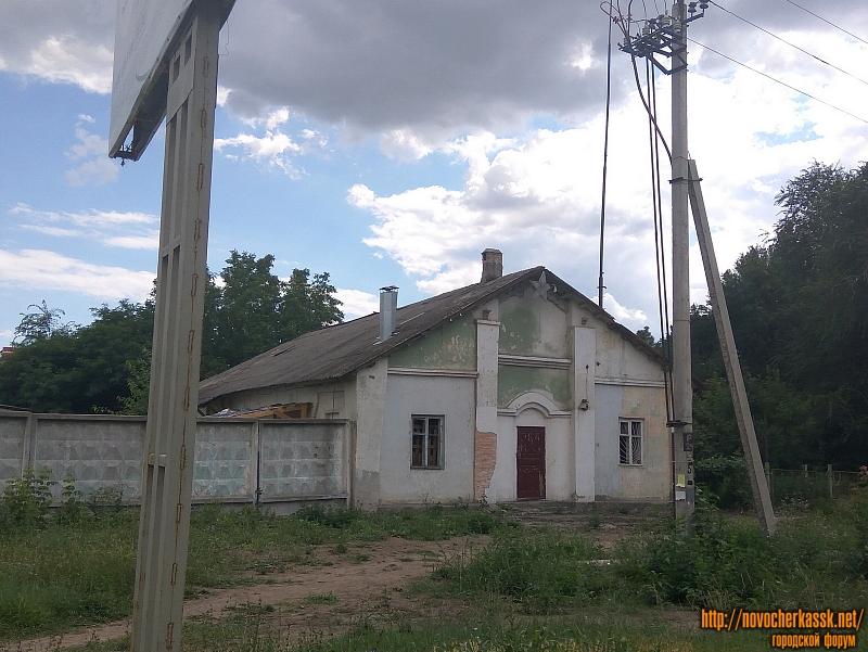 Здание ДРСУ на Баклановском