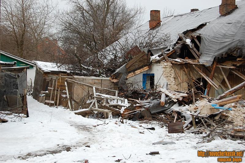Снос бараков в переулке Мирном