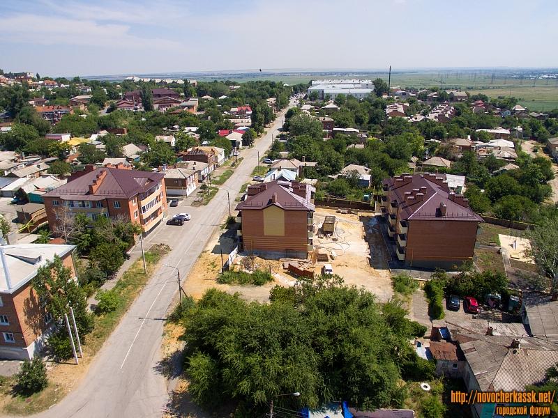 Три новых трехэтажки в переулке Путиловском