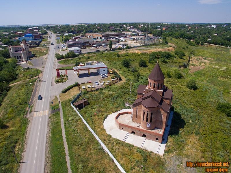 Строящаяся армянская церковь и Старый Ростовский выезд