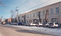 Улица Маяковского. Здание Мировых судей. С 1911 года - землемерное училище. В советские годы - СПТУ-54