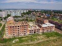 Стройка на улице Ященко
