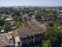 Бывшая территория завода имени Никольского. Цех на улице Комитетской