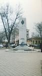 Памятник «Солдатам правопорядка». Установлен в 1999 году. Архитектор Е. Пантелеймонов