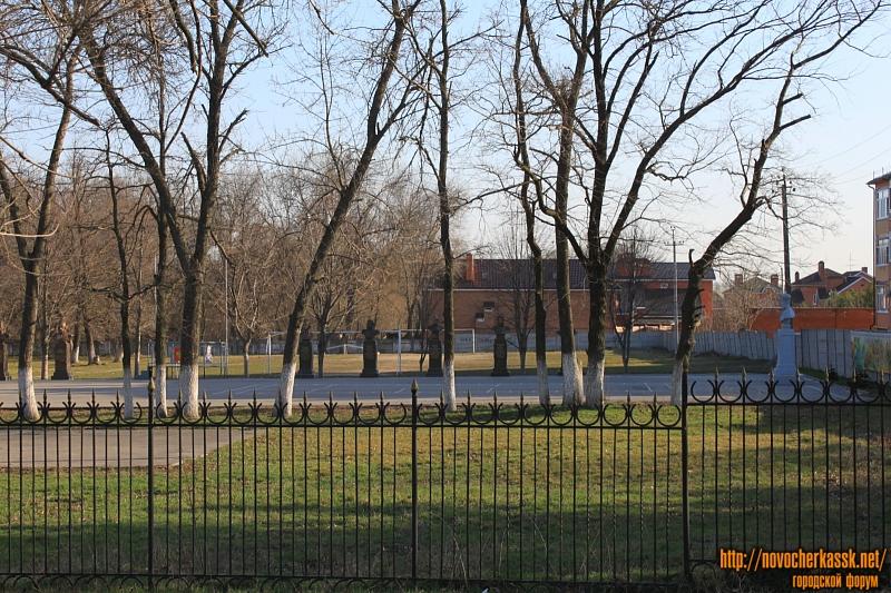 Территория кадетского корпуса на Баклановском
