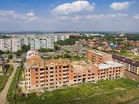 Строительство дома на улице Ященко, 6