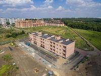 Окончание строительства дома на улице Ященко