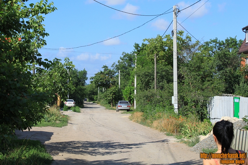 Улица Ященко в районе дома 43