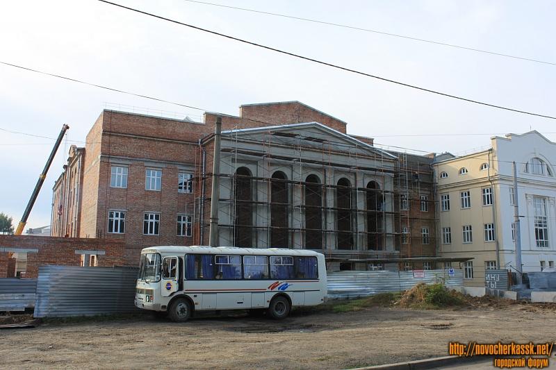 Строительство учебно-библиотечного комплекса ЮРГПУ (НПИ)