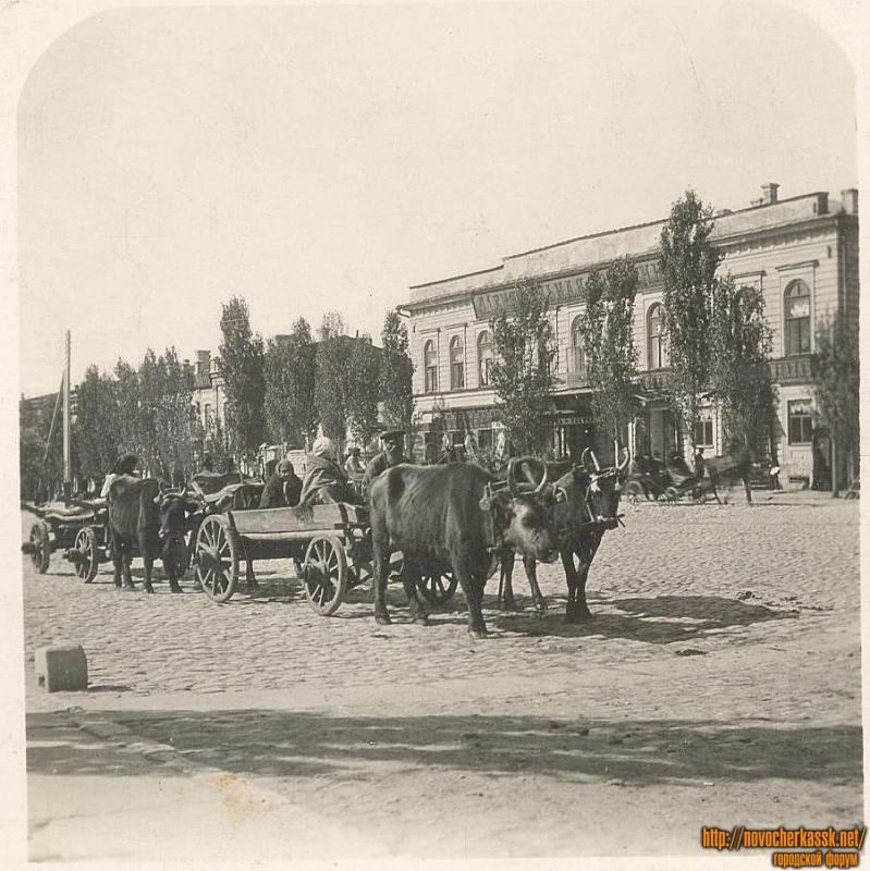 Центральная гостиница по Платовскому проспекту