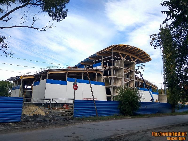 Строительство спортивного комплекса «Газпром» на ул. Свободы