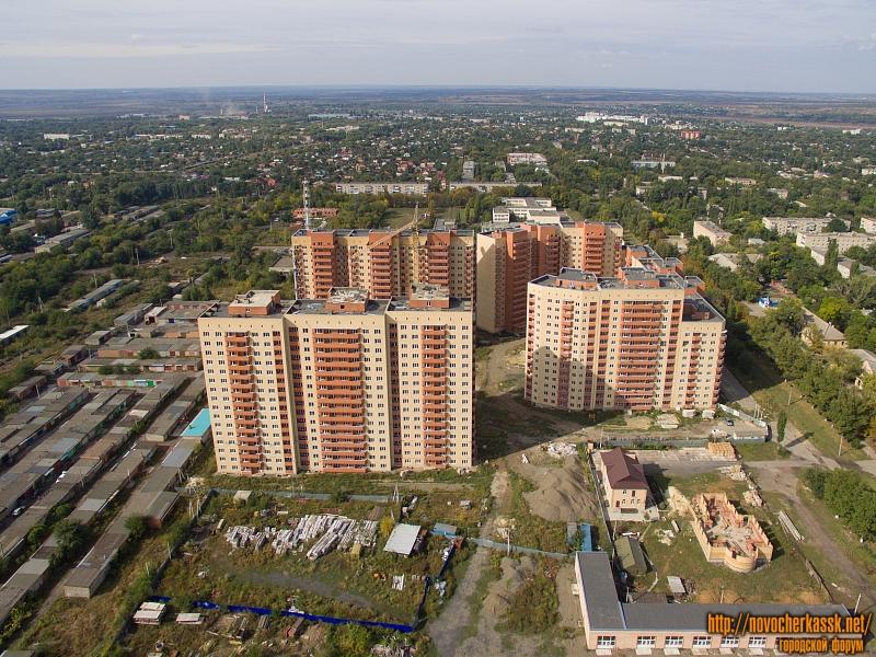 Строительства жилых многоэтажных домов для военнослужащих на улице Мацоты, Октябрьский
