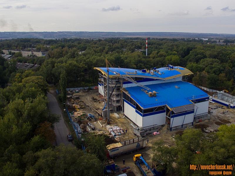 Строительство спортивного комплекса на Соцгороде