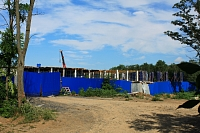 Строительство детского садика в роще