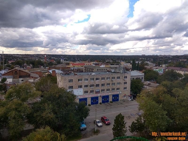 Пожарная часть на улице Пушкинской
