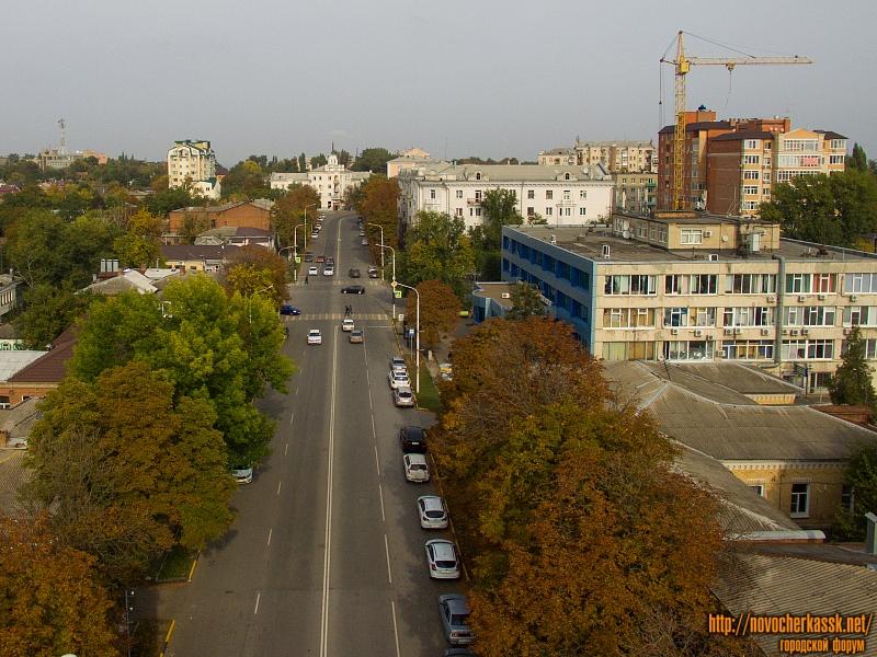 Улица Московская, Дом быта и строительство многоэтажек на Просвещения