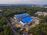 Строительство спортивного комплекса «Газпром» на Соцгороде