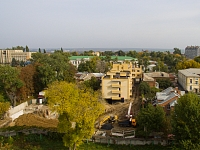 Строительство комплекса из двух домов на пр. Ермака