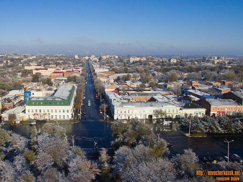 Пересечение Платовского и Московской