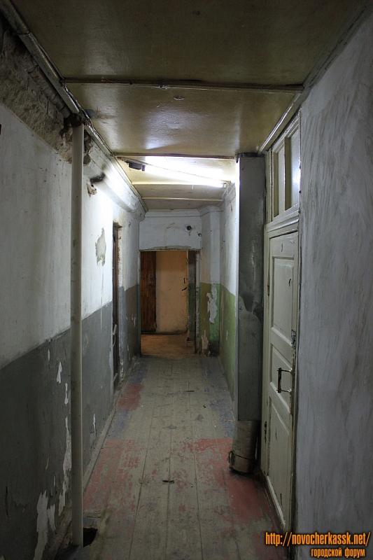 Общежитие на углу Красноармейской и Атаманской