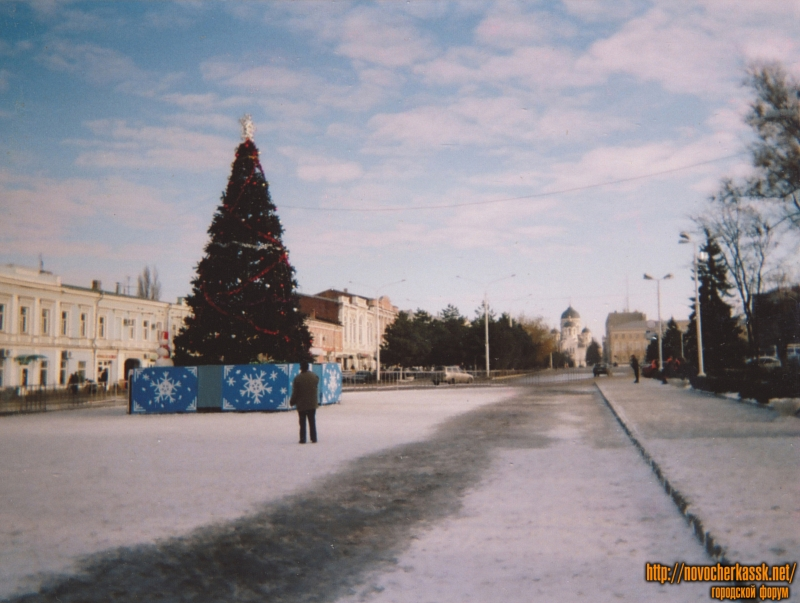 Елка на Платовском проспекте. Новый 2007 год