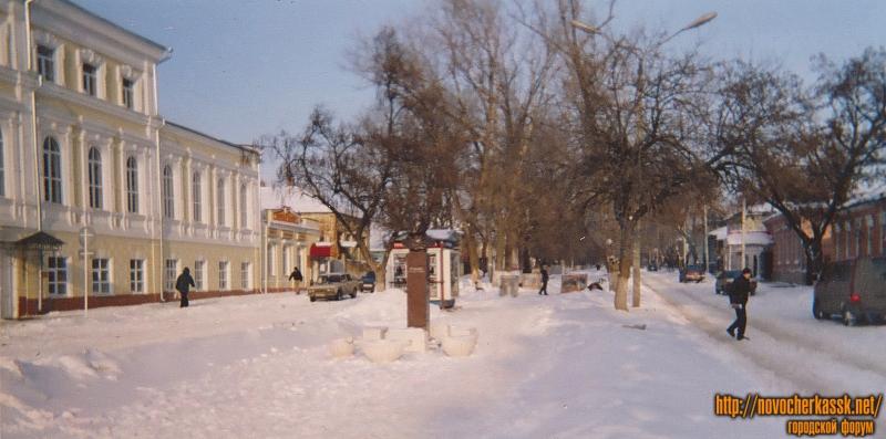 Улица Комитетская. Вид с улицы Московской