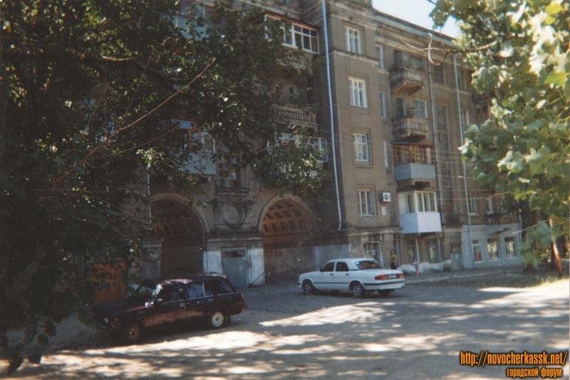 Соцгород. Жилой дом конца 30х годов. Угол Гвардейской и Высоковольтной
