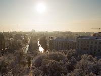 Проспект Ермака. Вид с площади Троицкой