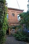 Общежитие на углу Красноармейской и Атаманской. Вид со двора