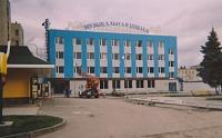 Музыкальная школа на Платовском проспекте. Здание построено в 2006 году