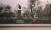 Проспект Платовский. Памятник Атаману Платову