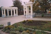 Ротонды в Александровском парке. Архитектор Н.Я. Гладких