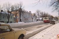 Улица Московская в районе ЗАГСа
