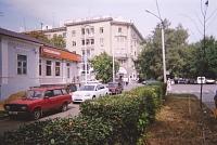 Улица Московская, 58. Вид с улицы Просвещения