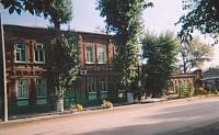Улица Фрунзе. Больница. Бывший дом братьев Базинеров