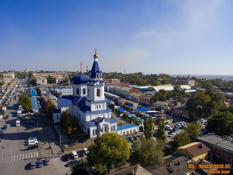 Михайловский храм и территория рынка