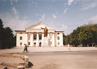 Улица Калинина. Прощадь перед домом культуры НЗСП