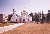 Храм Преподобного Сергия Радонежского возле завода НЗСП на Харьковском шоссе
