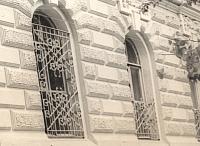 Улица Атаманская, 40. Решетки