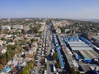 Платовский проспект и Азовский рынок