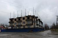 Стройка на углу Первомайской и Тургенева