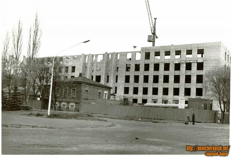 Строительство «Донпроектэлектро». Пр. Ермака, 106