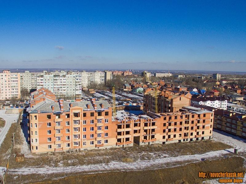Строительство по ул. Ященко, 6. Январь 2017