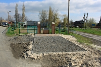 Памятник на Татарке. Площадь Панфилова