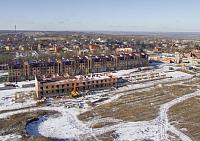Строительство ЖК «Европейский». Январь 2017