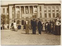 Вид на главный корпус НПИ. 1952 год