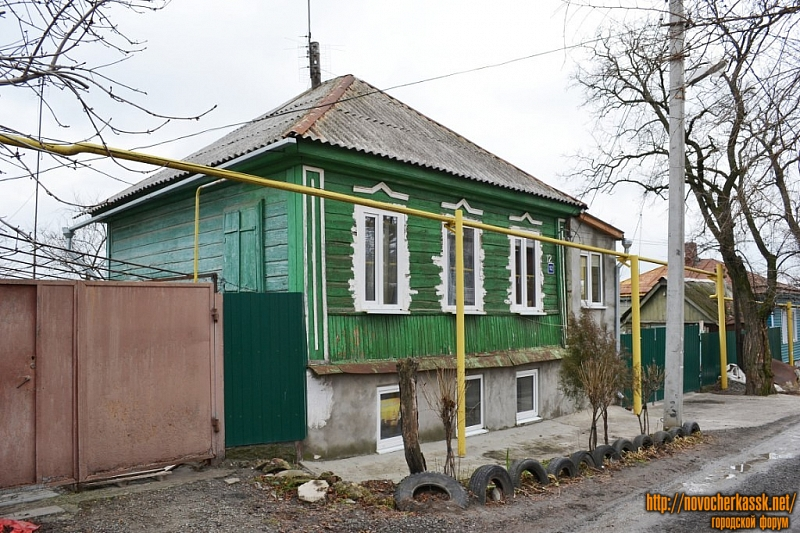 Переулок Володарского, 12
